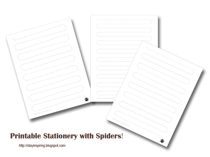 printable-stationery-with-spiders