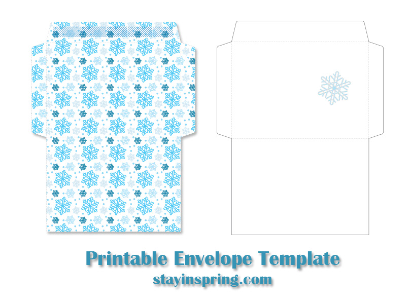 printable-envelope-template-with-snowflake