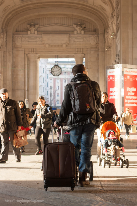 Путешествие в Милан, часть II