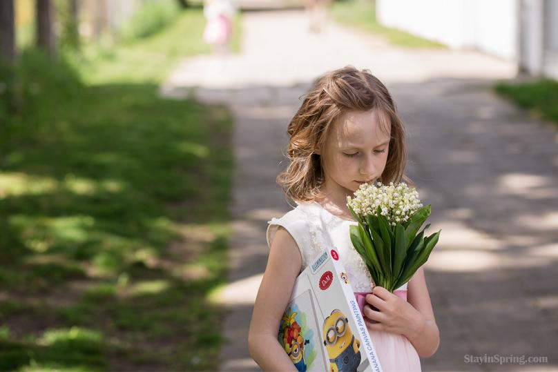 Вероника -- выпускник детского сада!