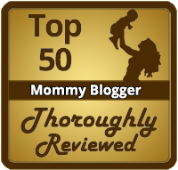 Top 50 Mommy Blogger on Thoroughly Reviewed