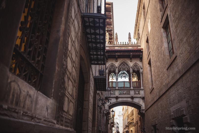 Барселона, Готический квартал (III).